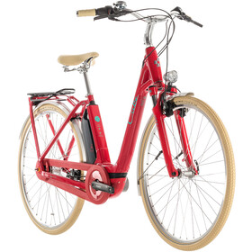 Cube Elly Cruise Hybrid 500 Easy Entry Women, red'n'mint